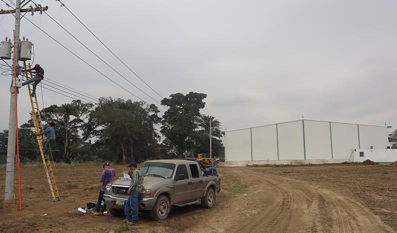 February 2021 - Energy installation in Ciudad Morazán